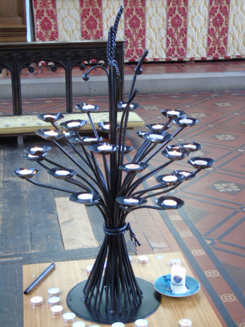 Prayer Candle Stand